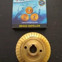 Brass Impeller / Impaler Pompa Air / Sanyo Shimizu / DAB