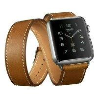 Jual Strap Hermes Double 38/42mm Apple Watch Iwatch Band Genuine Leather Murah