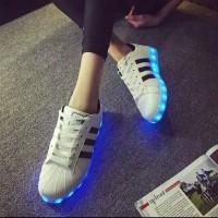 adidas superstar led shoes
