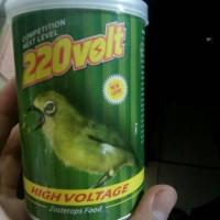 220 volt pakan burung pleci