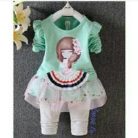Baju Anak Pr | | Girlset GS3801-3 BAK