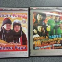 DVD Kevin karlyn lagu indo mandarin 2 disc