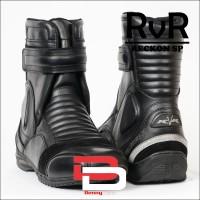 harga Sepatu Touring Rvr Reckon Sp Hitam Tokopedia.com