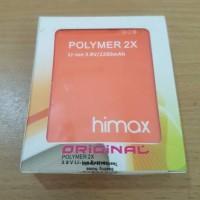 batere / baterai / battery Himax Polymer 2X Original
