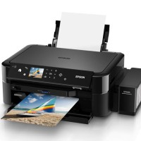 Printer Epson Photo/Foto Printer L850 6 Warna - Wifi, AIO, CD Print
