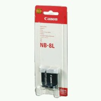 Canon Baterai NB 8L powershot A2200 A3100 A3000 A3200 A3300 IS NB8L