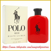 parfum ori Ralph Lauren Polo Red Men EDT 125ml (tester)