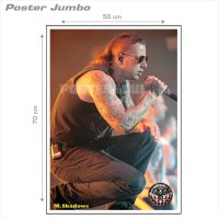 Poster AVENGED SEVENFOLD - M. SHADOWS #01 - Jumbo size 50 x 70 cm
