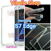 Softcase AntiCrack Samsung S7 Edge Anti Crack Shock Case Samsung S 7