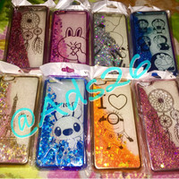 Case Water Glitter Shinning Chrome Oppo Neo 3/r831k/3d/softcase