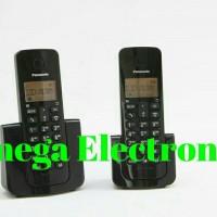 Panasonic KX-TGB112 Telepon Wireless Cordless Tanpa Kabel 2Handset Dua