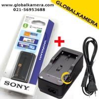Battery SONY NP-F570 (2200mAh) + Charger Sony BC-V615