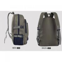 Tas Ransel Mens Casual Canvas Shoulder Travel Bag - JN639