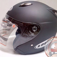 Helm basic INK Centro - Doff Series - bkn KYT BOGO AGV RETRO CROSS ANA