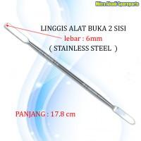 Crowbar/Linggis Alat Buka 2 Sisi/Sides Stailess Steel 6mm