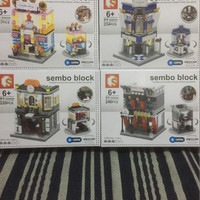 Sembo Block Led Lighting SD 6540 SD6541 HSBC SD 6542 SD6543