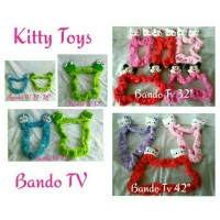 Jual boneka sarung bando tv led 21inc-28inc doraemon pooh hk mickey minnie Murah
