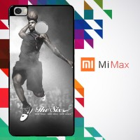 Lebron Dunk New Six Nike 0029 Custom Case for Xiaomi Mi Max Hardcase 3