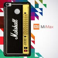 Music Edition_ Marshall Ampli #2 0078 Custom Case for Xiaomi Mi Max Ha