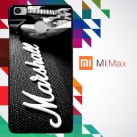 Music Edition_ Marshall Ampli Logo 0077 Custom Case for Xiaomi Mi Max