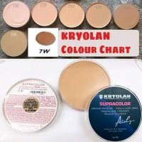BPOM] Kryolan Supracolor Foundation BESAR 55 ML / Supra Color Cryolan