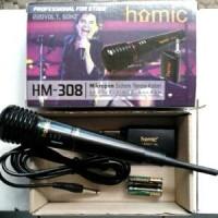 Jual Mic Mikropon Microphone Single Wireless Homic Tanpa Kabel Praktis Murah
