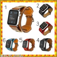 Apple Watch Hermes Cuff Strap 42mm 38mm Genuine Leather Premium qual S