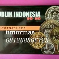 Uang Kuno Koin Set Indonesia dalam Folder