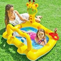 Kolam Baby Smiley Giraffe Baby Pool - INTEX #57105