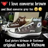 CONVERSE all star hi basic GREY 100% original