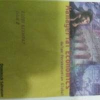 MANAGERIAL ECONOMICS JL.2 ED.4*Dominick Salvatore