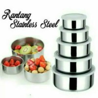 Rantang Stainless / Fresh Box 5 Susun (5 In 1)