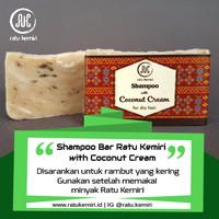 Shampoo Padat Natural untuk Perawatan Rambut Kering Ratu Kemiri