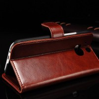 Flip Cover KULIT HTC One M8 Leather Case HP Dompet Casing Soft Hard