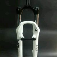 fork rst dirt lock putih travel 100