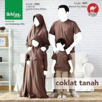 Kaos family dhikr DAI: ayahM,ibu S+hijab L,laki2 sz 4, pr sz 6+hijab S