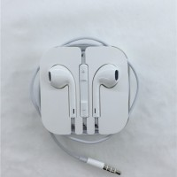 Jual Headset Handsfree Earphone Earpod iPhone 5 5s 6 6s 6+ Original Murah