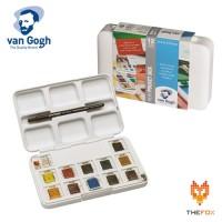 Cat Air Van Gogh 12 Pan Dan 3 Pans Watercolor Pocket Box