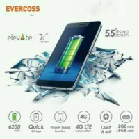 Evercoss S55 Elevate Y2 Power Ram 2gb 4g / Hp 5,5