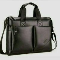 tas selempang pria/tas kulit kantor/tas laptop max,13 inch
