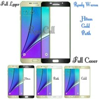 Tempered Glass Samsung Galaxy S7 Flat S 7 Flat Full Layar Full Cover