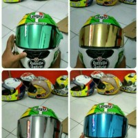 paketan tear off dan tear off post kbc c5 visor flat helm kyt helm kbc