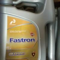 Oli Asli Pertamina Fastron Gold 5W-30 API SN/CF kemasan Gallon 4Liter