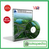 CD Autocad Civil 3D Untuk Survey dan Perencanaan Jalan Raya