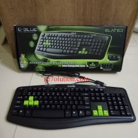 E-Blue Elated Gaming Keyboard DIY Interchangeable Keys (EKM046BK)