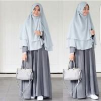 Basic Dress abu + khimar