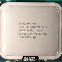 processor core 2 duo 2.4Ghz E6600 garansi 1thn