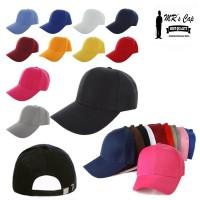 TOPI BASEBALL POLOS IMPORT / TUMBLR CAP STRAP BELAKANG !