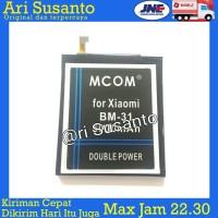 Baterai M-COM BM31 For Xiaomi Mi3 Double Power 5000mAh