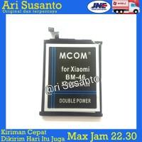 Baterai M-COM BM46 For Xiaomi Note 3 Double Power 5000mAh